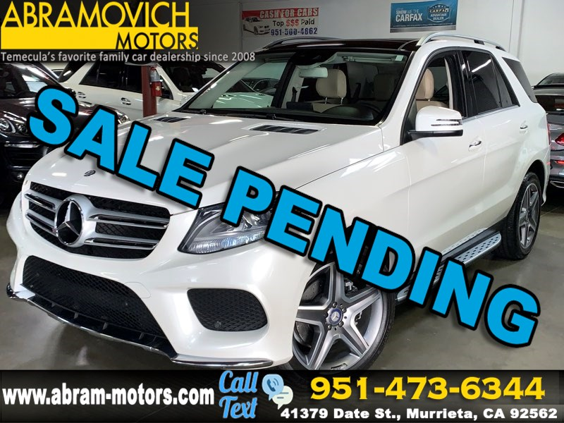 2017 Mercedes-Benz GLE 350 4MATIC SUV - KEYLESS GO - PREMIUM PACKAGE
