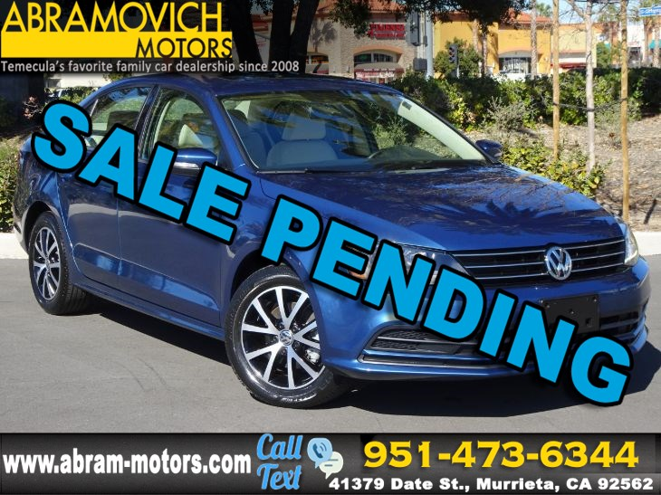 2017 Volkswagen Jetta - MSRP $23,315 - 1.4T SE - BLIND SPOT MONITORS - SATELLITE RADIO