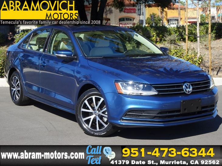 2017 Volkswagen Jetta 1.4T SE - BLIND SPOT MONITORS - SATELLITE RADIO