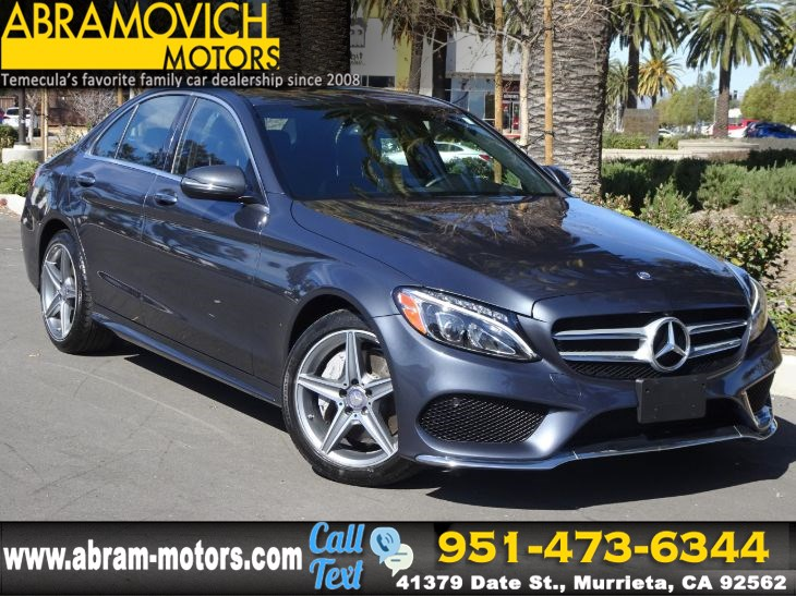 2016 Mercedes-Benz C 300 4MATIC Sport Sedan - PREMIUM / SPORT PACKAGE