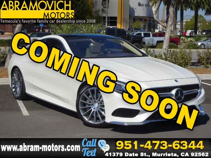 2016 Mercedes-Benz S 550 - MSRP $143,860 - 4MATIC Coupe - SPORT / PREMIUM PACKAGE