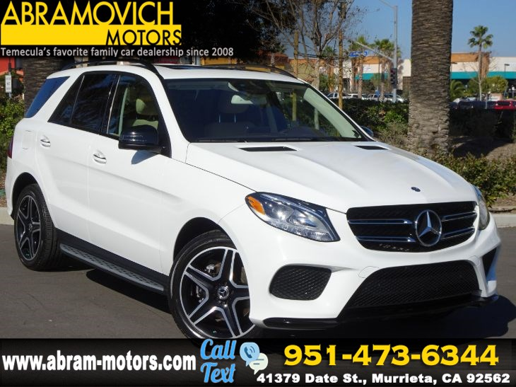 2017 Mercedes-Benz GLE 350 - MSRP $60,695 - SUV - KEYLESS GO - SPORT / NIGHT PACKAGE