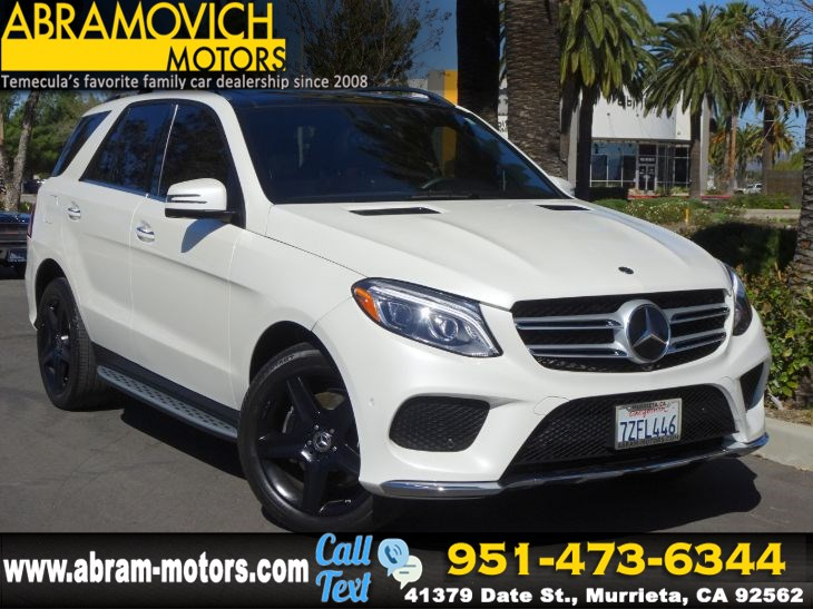 2017 Mercedes-Benz GLE 350 - MSRP $68,660 - SUV - BLIND SPOT MONITORS - PREMIUM 3 PACKAGE