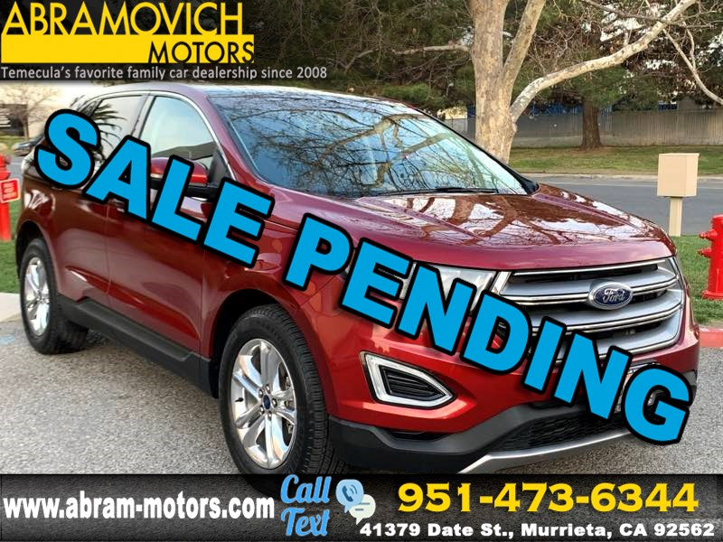 2016 Ford Edge SEL - SATELLITE RADIO - REAR PARKING AID