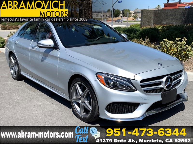 2016 Mercedes-Benz C 300 4MATIC SPORT Sedan - $52,865 MSRP- MULTIMEDIA PKGM