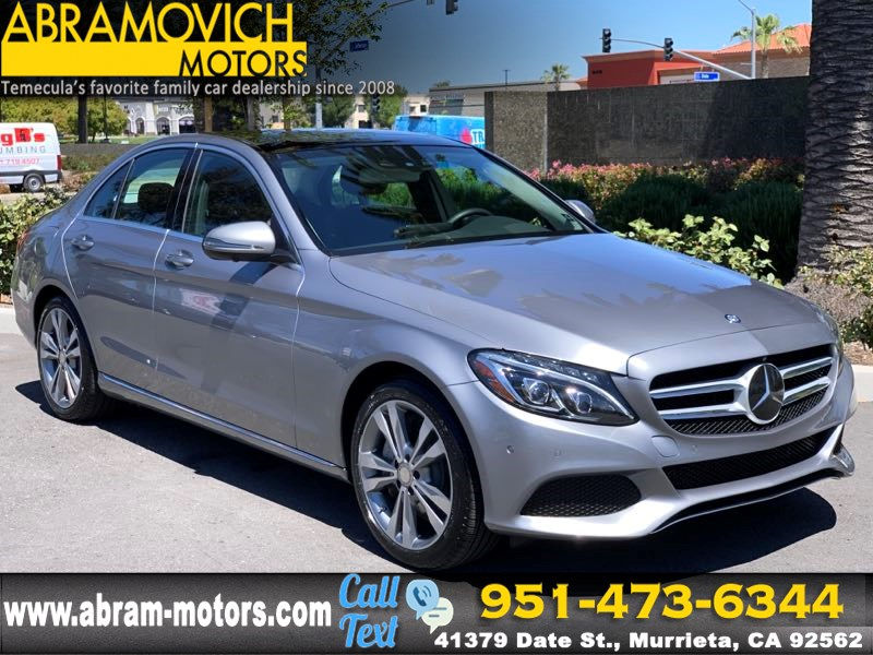 2016 Mercedes-Benz C 350e Sedan - P2 PKG - DRIVER ASSIST PKG - PANO ROOF