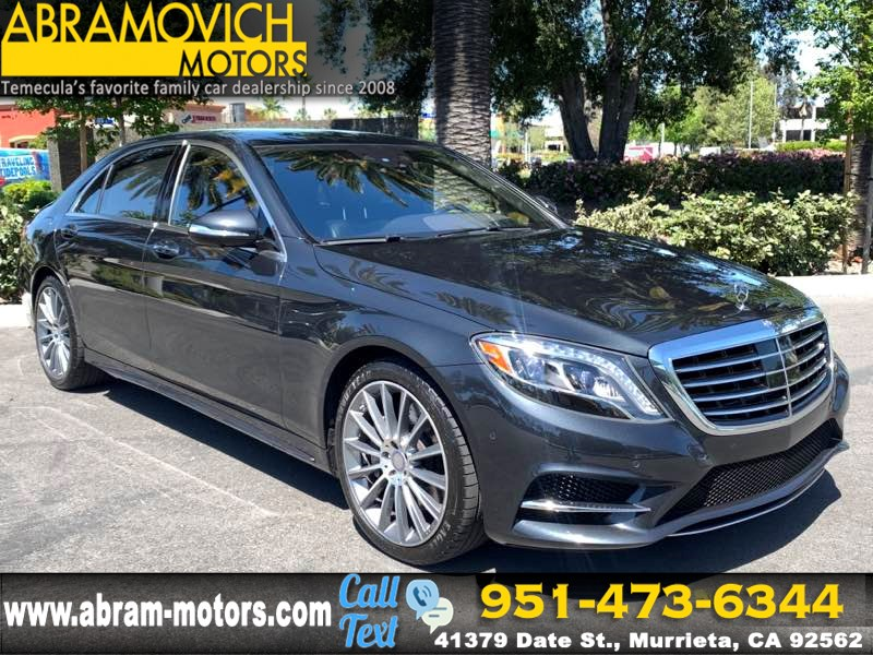 2016 Mercedes-Benz S 550 Sedan - SPORT / PREMIUM PACKAGE