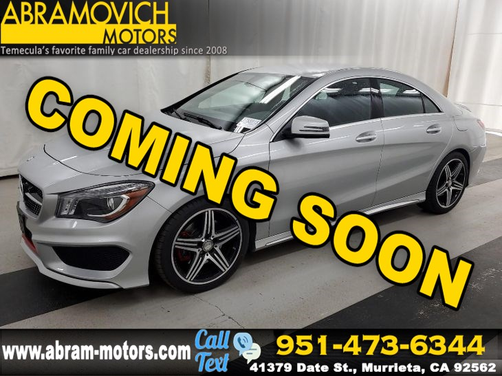 2016 Mercedes-Benz CLA 250 - MSRP $47,120 - 4MATIC Coupe - SPORT PACKAGE PLUS / PREMIUM PKG