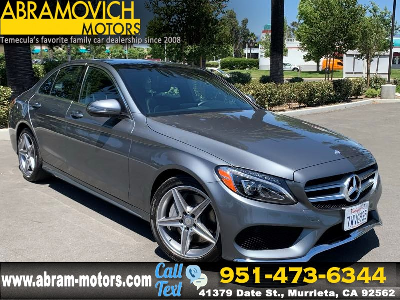 2017 Mercedes-Benz C 300 - MSRP $49,030 - Sedan with Sport Pkg - KEYLESS GO