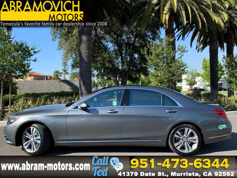 2017 Mercedes-Benz S 550e Plug-In Hybrid - MSRP $105,525 - Sedan - PREMIUM / DRIVER ASSISTANCE PACKAGE
