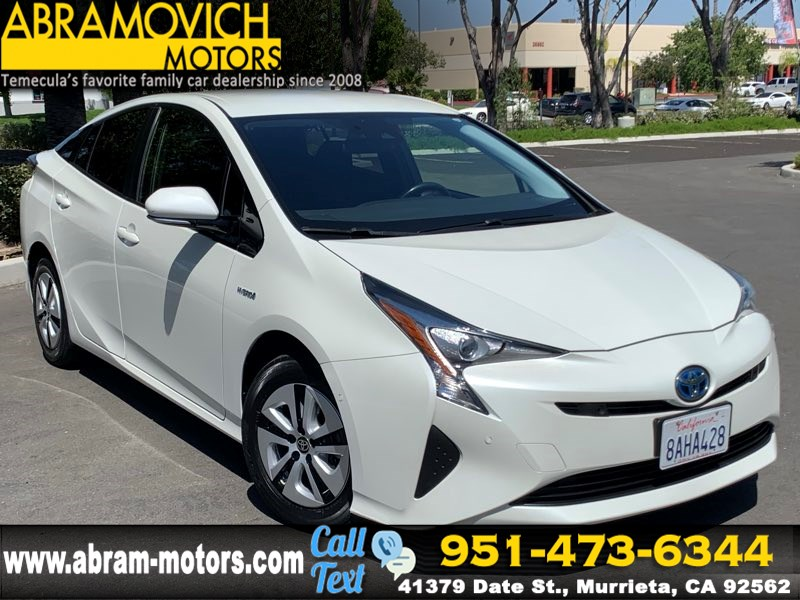 2017 Toyota Prius - MSRP $28,219 - Two - NAVIGATION - KEYLESS START - NEW TIRES