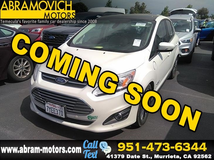 2017 Ford C-Max Energi - MSRP $34,425 - Titanium - BLIND SPOT - REAR PARKING AID