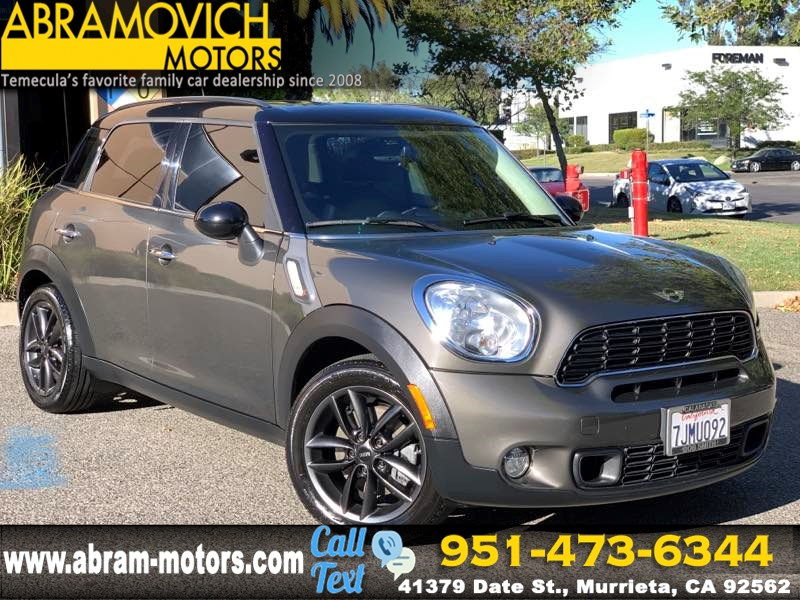 2012 MINI Cooper Countryman - MSRP $32,400 - S - WIRED / TECHNOLOGY PACKAGE