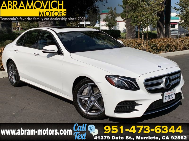 2017 Mercedes-Benz E 300 - MSRP $58,125 - RWD Sedan - PREMIUM / SPORT WHEEL PACKAGE