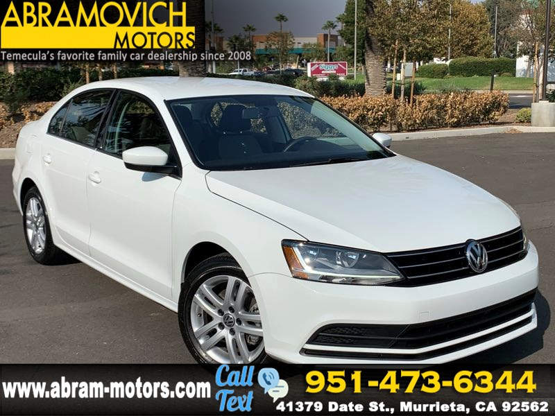 2017 Volkswagen Jetta - MSRP $21,040 - 1.4T S - REAR VIEW CAMERA - PRICED TO SELL