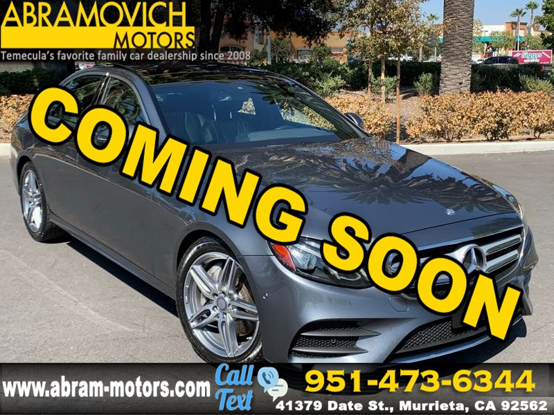 2017 Mercedes-Benz E 300 - MSRP $61,335 - RWD Sedan - PREMIUM 1 PACKAGE