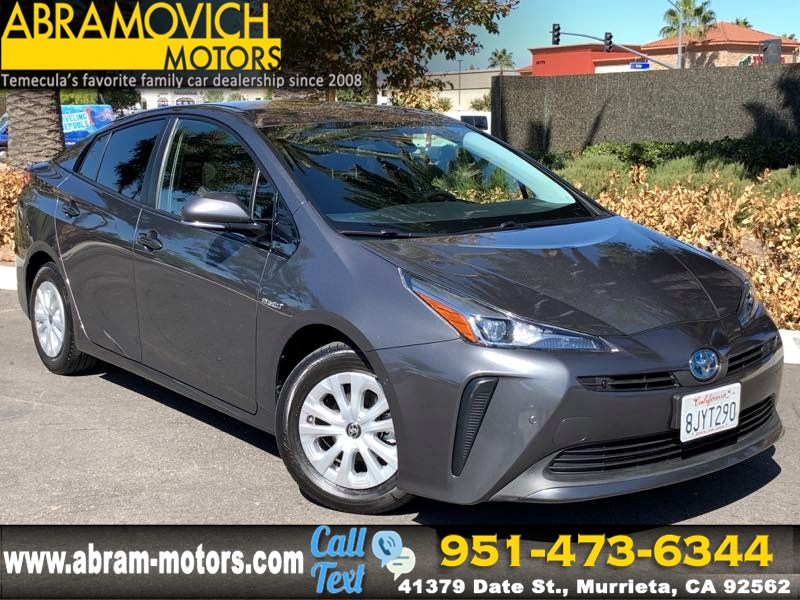 2019 Toyota Prius - MSRP $26,004 - LE - KEYLESS START - PRICED TO SELL