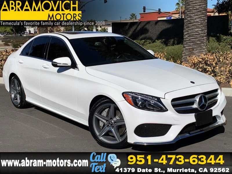 2018 Mercedes-Benz C 300 Sedan - MSRP $45,020 - AMG LINE - BLIND SPOT ASSIST