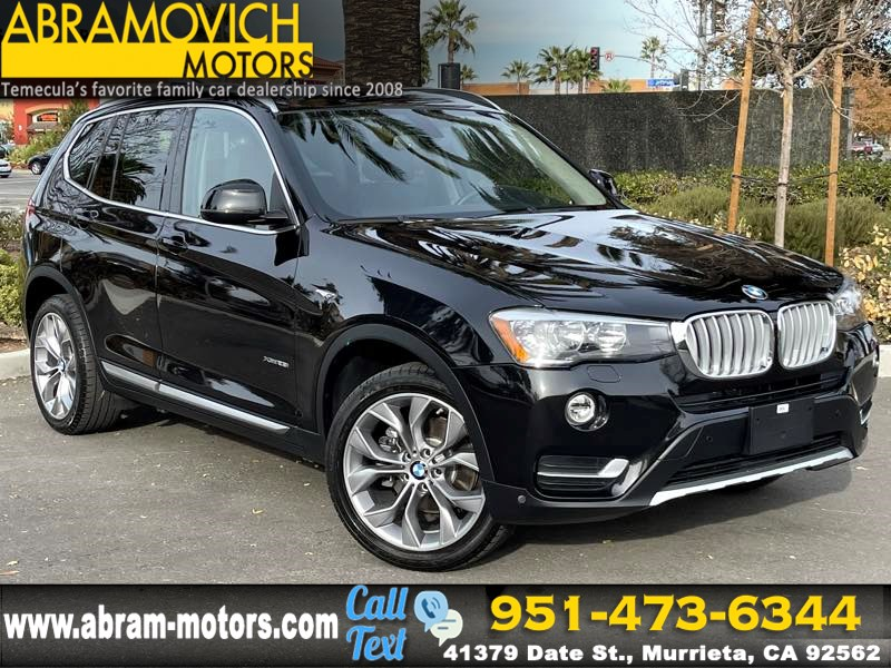 2017 BMW X3 xDrive28i - MSRP $50,995 - PREMIUM 3 PACKAGE - XLINE