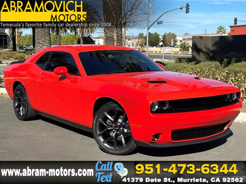 "2019 Dodge Challenger SXT - MSRP $31,975 - UCONNECT 4C NAV W/8.4"" DISPLAY"