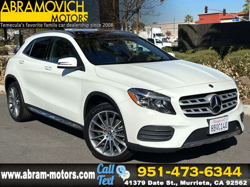 2018 Mercedes-Benz GLA 250 SUV - MSRP $40,330 - PANORAMIC ROOF - AMG LINE EXTERIOR