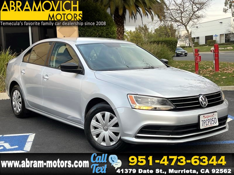 2016 Volkswagen Jetta Sedan 1.4T S w/Technology - MSRP $20,915 - REAR VIEW CAMERA - SATELLITE RADIO