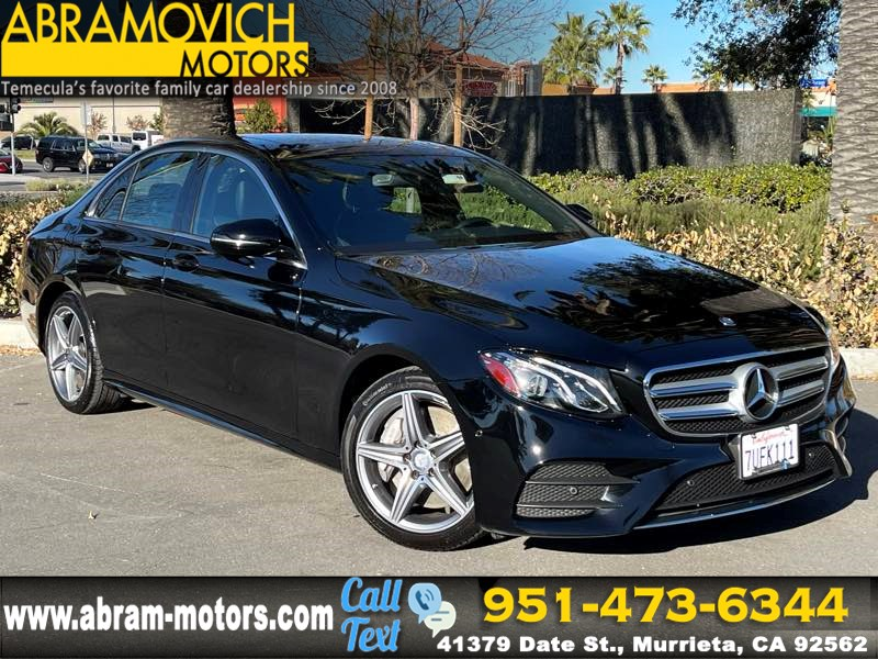 2017 Mercedes-Benz E 300 RWD Sedan - MSRP $56,385 - SPORT WHEEL PACKAGE / PARKING PILOT