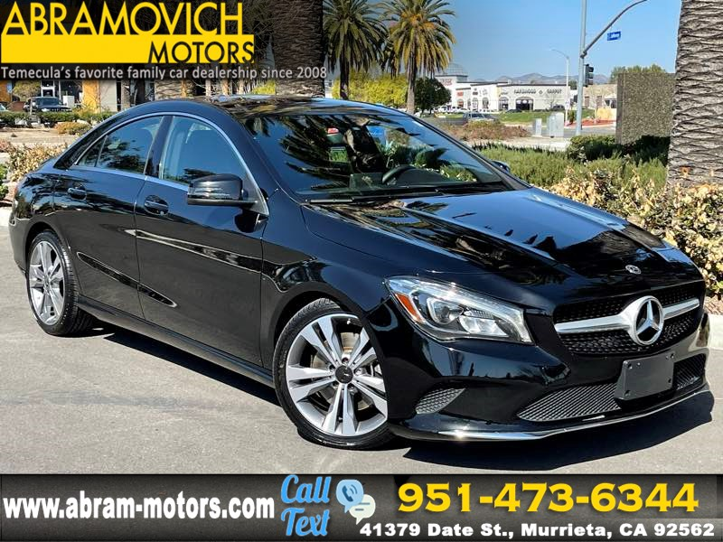 2018 Mercedes-Benz CLA 250 Coupe - MSRP $40,730 - PANORAMIC ROOF - PREMIUM PACKAGE