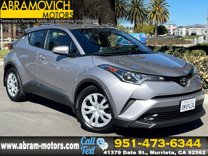 2019 Toyota C-HR LE - MSRP $22,741 - REAR VIEW CAMERA - ADAPTIVE CRUISE CONTROL