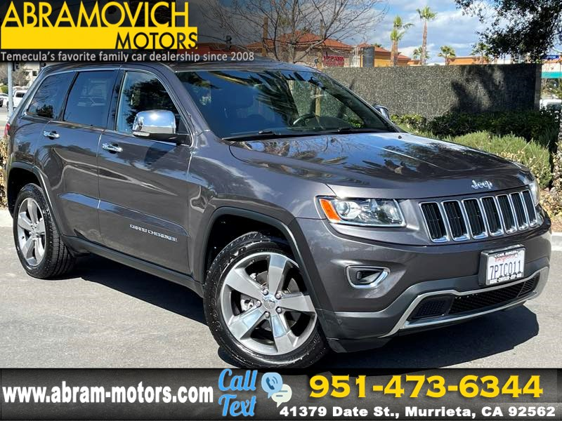 2014 Jeep Grand Cherokee Limited - MSRP $ KEYLESS START - REAR PARKING AID