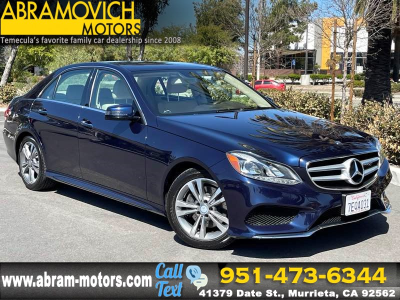 2014 Mercedes-Benz E 400 Sport Sedan - MSRP $65,160 - PREMIUM 1 PACKAGE - KEYLESS-GO PACKAGE