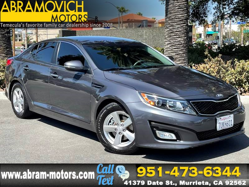 2015 Kia Optima LX - MSRP $22,845 - SATELLITE RADIO - FRESH TRADE-IN