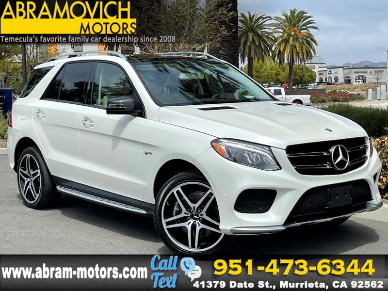 2017 Mercedes-Benz AMG GLE 43 - MSRP $76,220 - 4MATIC SUV - PREMIUM 2 PACKAGE