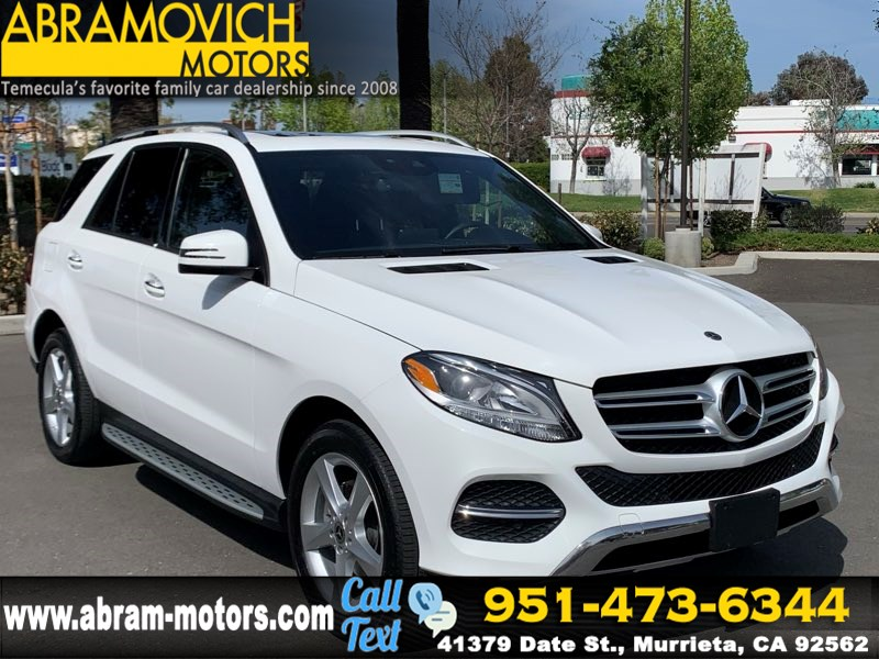 2018 Mercedes-Benz GLE 350 SUV - MSRP $58,225 - PREMIUM 1 PACKAGE