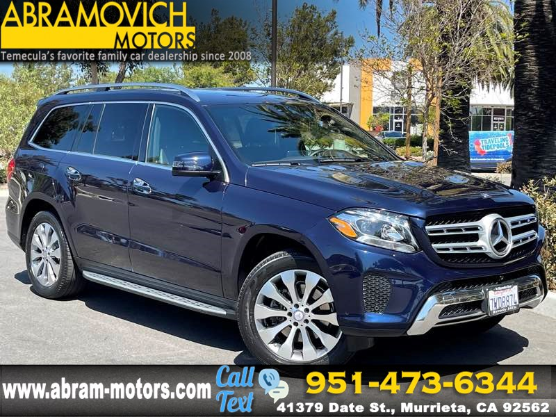 2017 Mercedes-Benz GLS 450 - 4MATIC SUV - MSRP $81,080 - PREMIUM PACKAGE - APPEARANCE PACKAGE