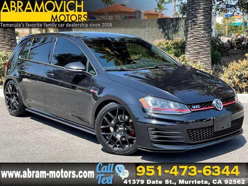 2015 Volkswagen Golf GTI S - MSRP $28,260 - LIGHTING PKG - PRICED TO SELL