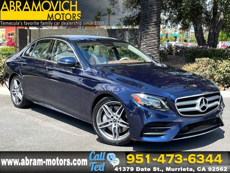 2017 Mercedes-Benz E 300 RWD Sedan - MSRP $69,645 - PREMIUM 2 PKG / SPORT WHEEL PKG