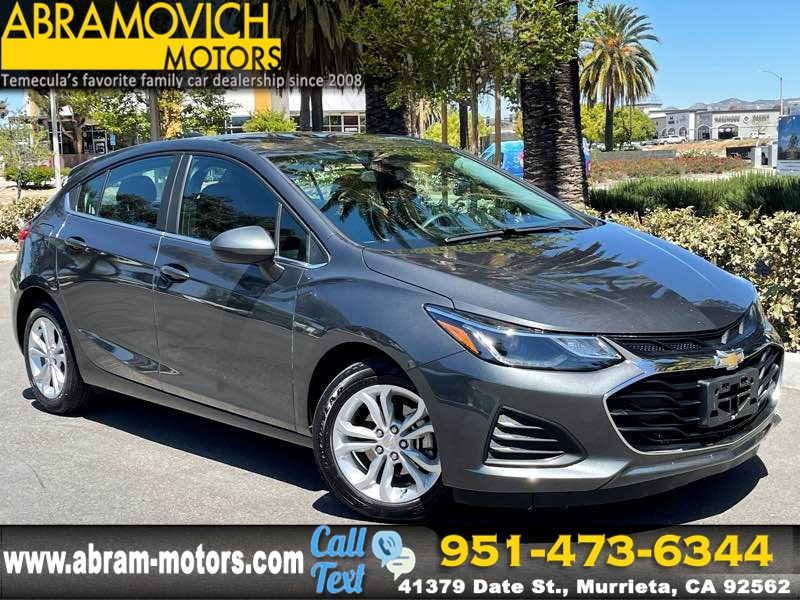 2019 Chevrolet Cruze LT - MSRP $24,235 - SATELLITE RADIO - CONVENIENCE PACKAGE