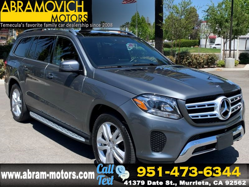 2017 Mercedes-Benz GLS 450 4MATIC SUV - MSRP $79,665 - PARKING ASSIST PKG - APPEARANCE PKG