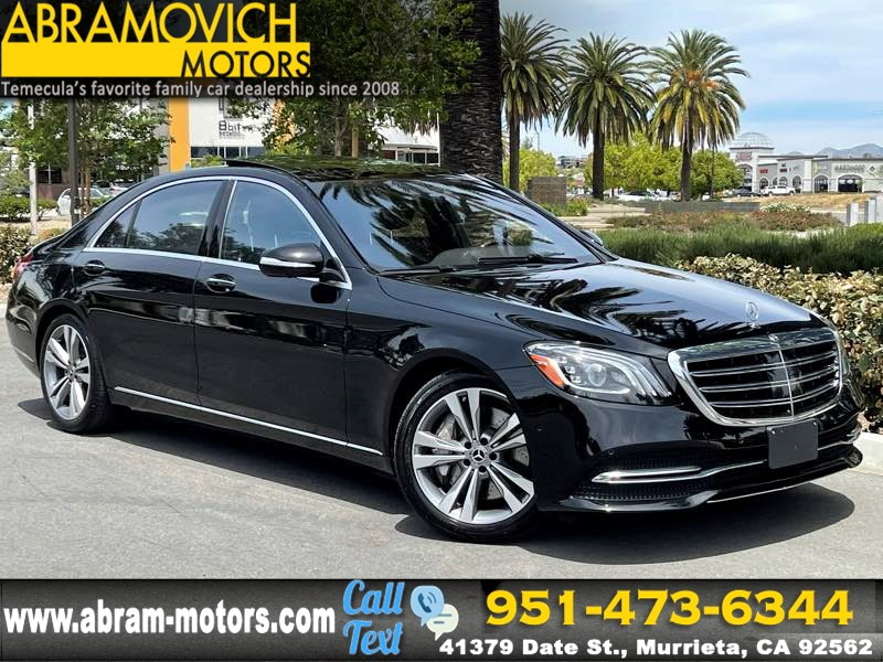 2018 Mercedes-Benz S 450 4MATIC Sedan - MSRP $102,335 - DRIVER ASSISTANCE PKG - PREMIUM PKG