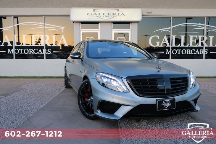 2017 Mercedes-Benz S 63 For Sale