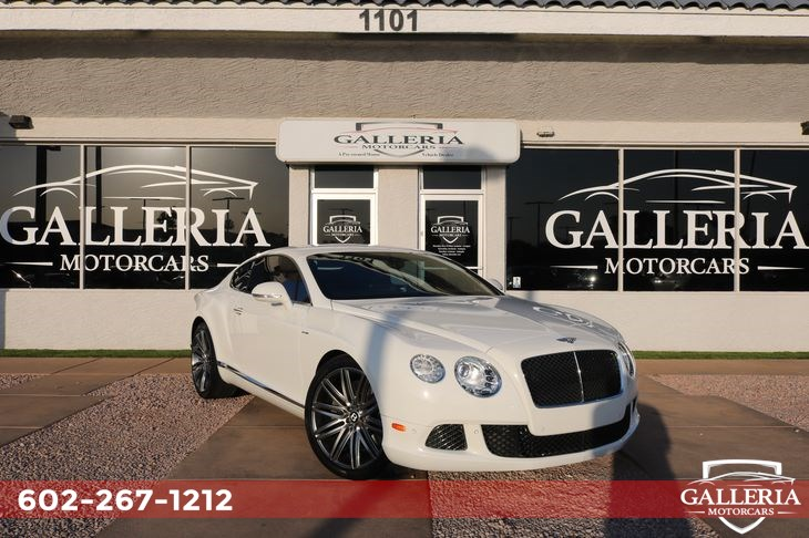 2013 Bentley Continental GT Speed Speed