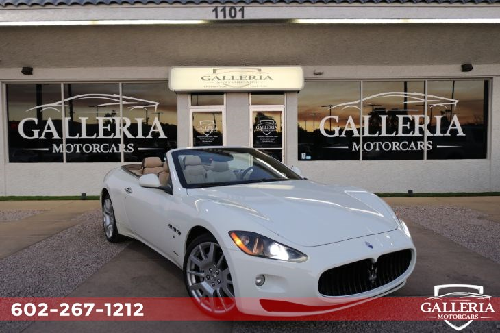 2010 Maserati GranTurismo Convertible For Sale