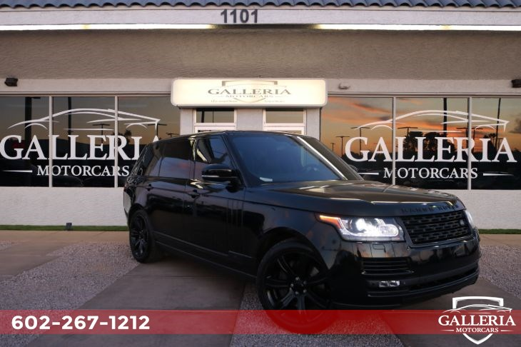 2015 Land Rover Range Rover Autobiography Black