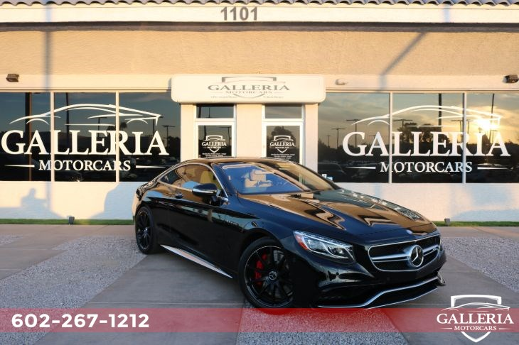 2015 Mercedes-Benz S 63 AMG 4MATIC Coupe