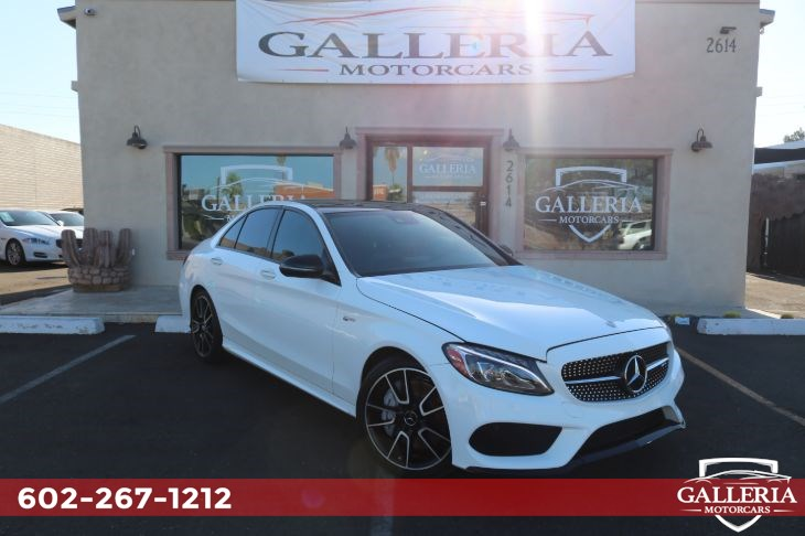 2017 Mercedes-Benz AMG C 43 4MATIC Sedan