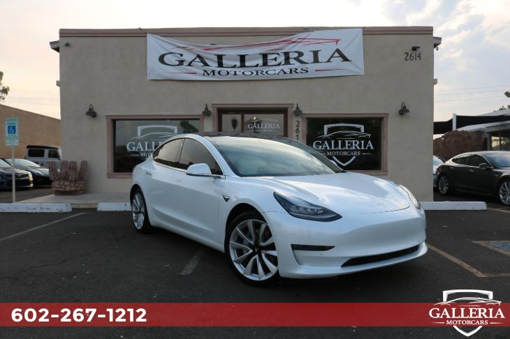 Sold 2020 Tesla Model 3 Long Range In Scottsdale