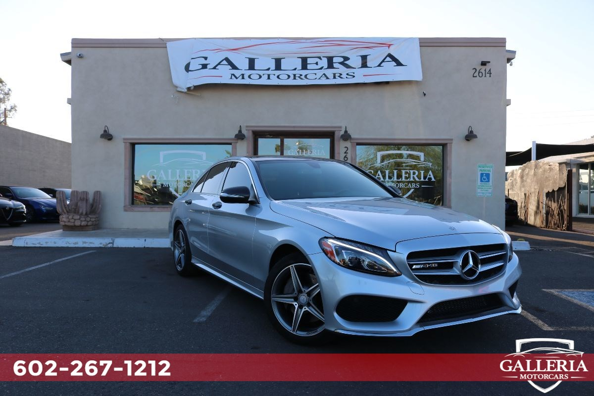2015 Mercedes-Benz C 300 4MATIC Sport Sedan