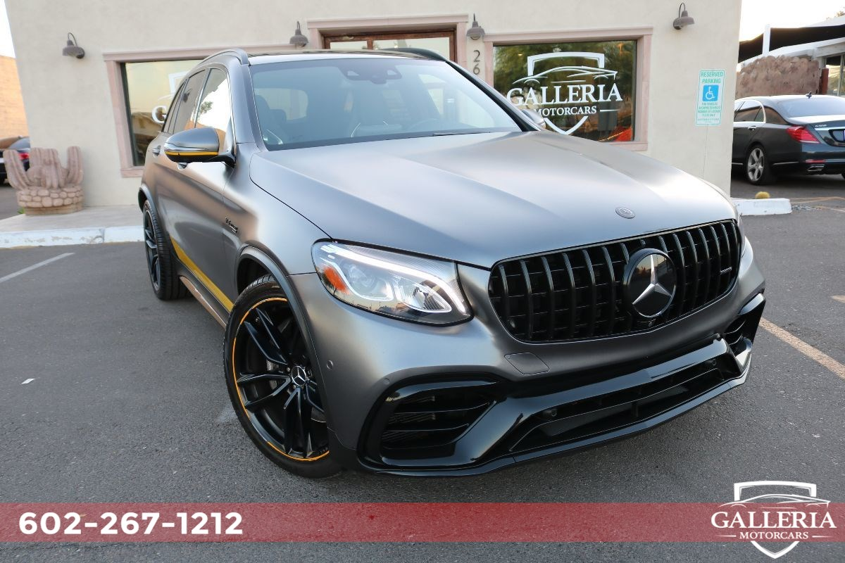 2019 Mercedes-Benz AMG GLC 63 4MATIC+ SUV