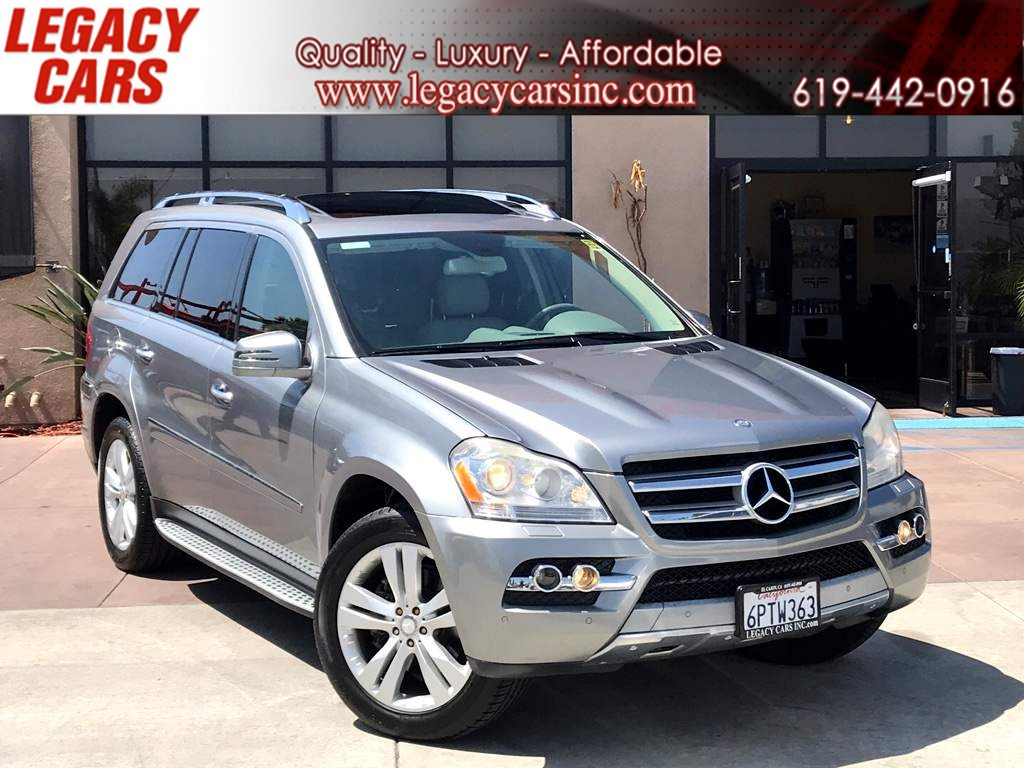 2011 Mercedes-Benz GL 450 4MATIC W/NAV/DVD